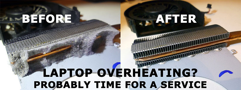 desktop overheating service
